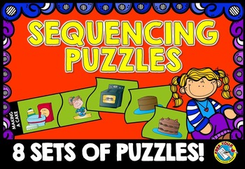 SEQUENCING ACTIVITIES: SEQUENCING CARDS: PRE K SEQUENCING