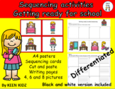 HOW TO ..........SEQUENCING - GETTING READY FOR SCHOOL