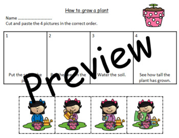 SEQUENCING - HOW TO GROW A PLANT