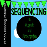 SEQUENCING for Kindergarten and 1st Grade! Sequence of order packet.