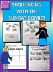 SEQUENCING with the use of Sunday Comics PPT and PDF with worksheets