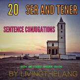 SER AND TENER CONJUGATION ACTIVITY