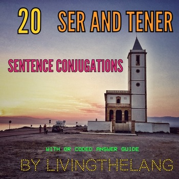 SER AND TENER CONJUGATION ACTIVITY