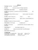 SER+Adj Celebrity Dialogue - Fill in the Blank