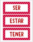 SER ESTAR TENER labels activity (Santillana 2 UP1)
