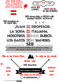 SER & ESTAR  Infographics [Detailed  Version]