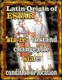 A~SPANISH~H~SER and ESTAR: VISUALIZING THE DIFFERENCE IN MEANING