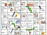 Spanish Game: SER and adjectives Chutes and Ladder