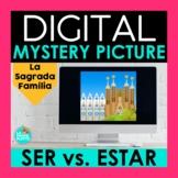 SER vs ESTAR Digital Mystery Picture   La Sagrada Familia