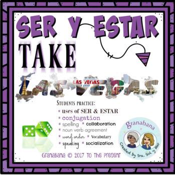 Bundle! * No Prep! SER y ESTAR Paso a Paso + Unpacking SER y ESTAR + Las Vegas