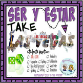 SER y ESTAR Take LAS VEGAS * a Speaking & Writing Interactive Practice Activity