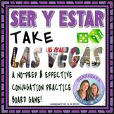 SER y ESTAR Take LAS VEGAS * a Speaking & Writing Interact