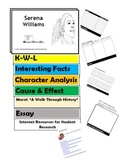 SERENA WILLIAMS Flip Book - Research Project