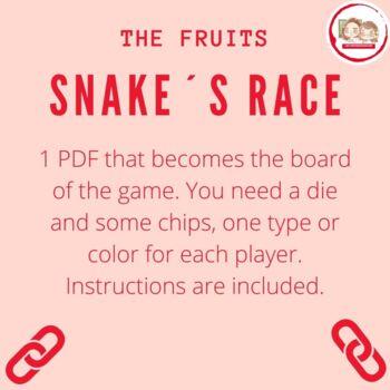 SERPIENTES Y ESCALERAS: LA FRUTA (Snake and Ladders: The Fruit)
