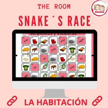 SERPIENTES Y ESCALERAS: MI HABITACIÓN (Snakes and Ladders: My Room)