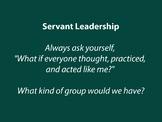 SERVANT LEADERSHIP Poster