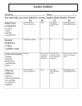 SERVICE /VOCATIONS : MOTHER TERESA / POPE FRANCIS PACKET