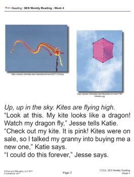 SES Weekly Reading- Flying Kites