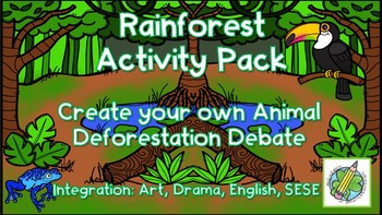 SESE: Rainforest Activity Pack *BUNDLE*