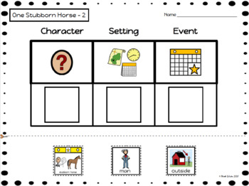 SET #2 - Characters, Setting, Events (Level C) Autism/SPED
