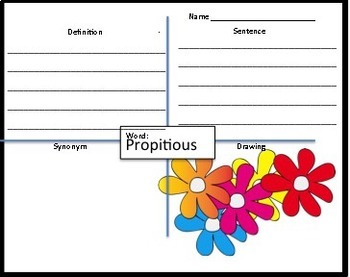 SET 2 Word of the Day PPT and Task Cards