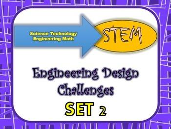 STEM Bundle of Five Engineering Design Challenges Set 2