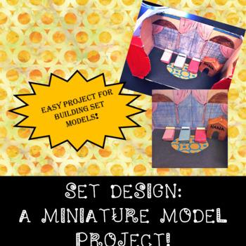 SET DESIGN: A Miniature Model Project