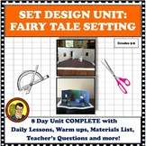 DISTANCE LEARNING DRAMA UNIT: SET DESIGN FAIRY TALE SETTING