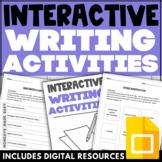 SET OF 3   Creative Writing   Kinetic and Engaging Interac