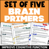 BRAIN BREAKS for Middle School and High School ENERGIZERS