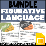 BUNDLE | Collaborative WORD WALLS | FIGURATIVE LANGUAGE and Literary Terms