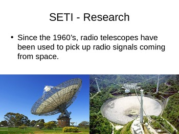 SETI and The Fermi Paradox