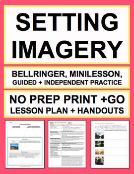 SETTING & SENSORY LANGUAGE LESSON PLAN NO PREP
