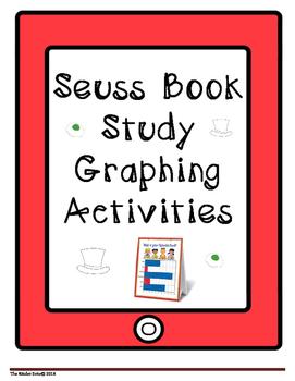 SEUSS BOOK STUDY UNIT * MATH GRAPHING CENTER PACKET