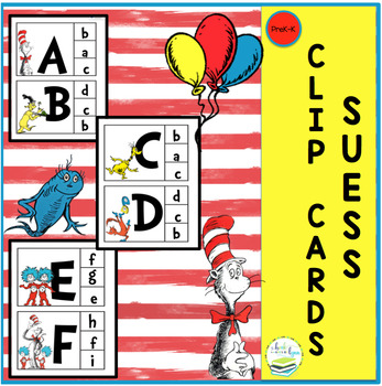 SEUSS FREE CLIP CARDS