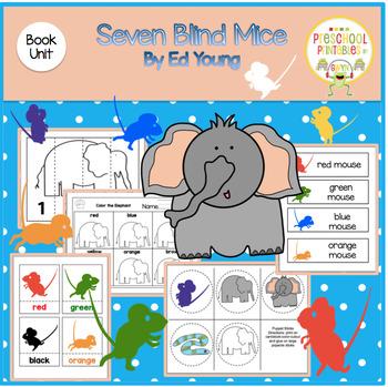 SEVEN BLIND MICE  BOOK UNIT