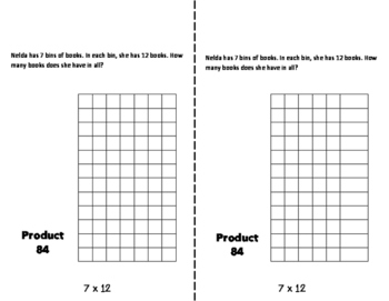 SEVENS Multiplication Fact Fluency Flip Book: Grades 3-5