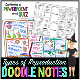 Sexual and Asexual Reproduction Doodle Notes | Science Doo