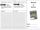 SF Reading Street Grade 4 Moonwalk Comprehension Trifold