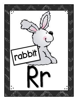 SFA Alphabet Wall Cards