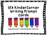 SFA KinderCorner Writing Prompt Cards Unit 2