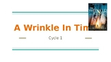 SFA Novel Study A Wrinkle in Time Cycle 1 Google Classroom