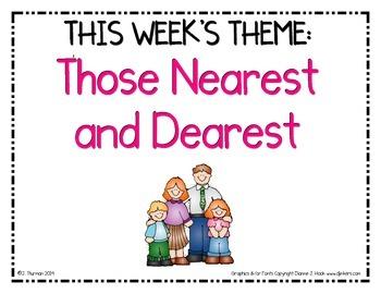 SFA Weekly Themes