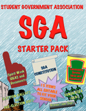 SGA Student Government Association Packet To Run Your Club