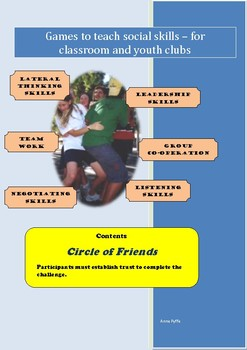 Social Games for Kids - Circle of Friends
