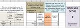 SGO Calculator - Post Student Growth Objective Teacher Score Calculator