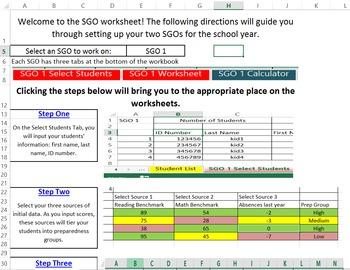 SGO Calculator and Tracker