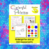 SGO Visual Art Assessments - Kindergarten and Up