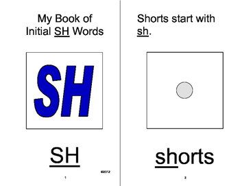 SH Articulation Adapted Velcro BOOK, Initial and Final SH, SPEECH THERAPY