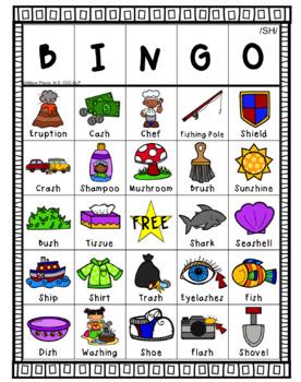 SH Articulation Bingo